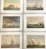 Lot 350 | Frederic Cozzens American Yachts Lithographs