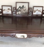 Lot 360A | 19th C. Chinese Rosewood Daybed