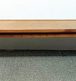 9. Drexel American Modern Walnut Bench Table | $276.75
