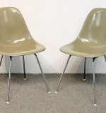 29. Two Charles & Ray Eames Shell Chairs | $265.50