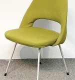 32. Eero Saarinen Upholstered Side Chair | $184.50