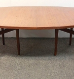 44. Arne Vodder Sibast Teak Dining Table | $2,091