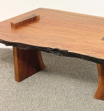 57. Thacker Higgins Studio Walnut Table | $826