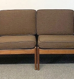 67. Two Folke Ohlsson for Dux Teak Loveseats | $1,062