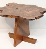 78. George Nakashima Claro Walnut Odakyu End Table | $28,320