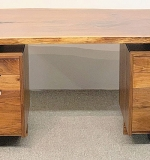 79. George Nakashima Double-pedestal Desk | $27,060