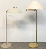 110. Two Midcentury Modern Floor Lamps | $184.50