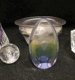 117. Six Pieces of Art Glass | $118