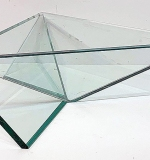 124. Faceted Glass Modernist Bowl | $147.50
