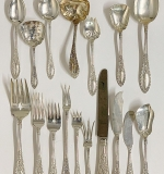 127. 113-Pc. Manchester Sterling Flatware Service | $1,652