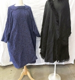 130. Two Elisabeth Tonsson Brown Capes | $35.40