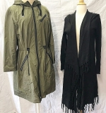 138. Tahari Raincoat and Kenar Hooded Cape | $86.10