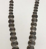 146. Mexican Silver Reversible Necklace | $246