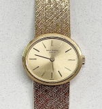 169. Patek Philippe 18K Gold Ladies Watch | $2,242