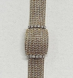 175A. 14K Yellow Gold and Diamond Ladies Watch | $1,062