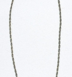 175C. 18K Yellow Gold Open Twisted Wire Link Necklace | $1,416