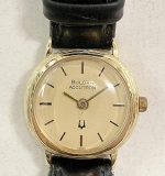 175E. Vintage Bulova Accutron 14K Gold Watch | $354