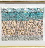 177. James Rizzi. Mixed Media, When Living is Easy | $2,596