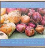 193. Frane Milner. Oil on Canvas, Onions | $106.20