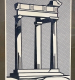 209. Roy Lichtenstein. Signed Lithograph, Temple | $4,674