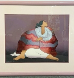 213. R.C. Gorman. Lithograph, Seated Woman | $258.30