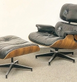 221. Charles & Ray Eames Lounge Chair and Ottoman | $4,182