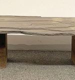 232. Minimalist Slate-top Low Table | $49.20