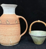 234. Two-piece Studio Art Pottery Grouping | $23.60