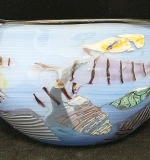 236. North Shore Glass Art Glass Bowl | $59
