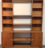 259. Finn Juhl Teak Cresco Wall Unit | $461.25