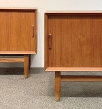 260. Pair of Falster Danish Teak Night Stands | $560.50