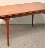 264. Danish Modern Teak Extension Dining Table | $762.60