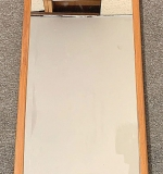 267. Danish Modern Teak Wall Mirror	| $184.50