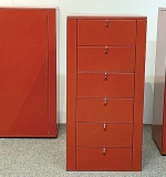 271. Three Interlubke Modern Design Storage Cabinets | $492