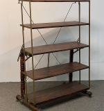 273. Antique Industrial Mechanical Shelf/Table | $767.00