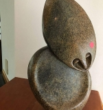 296. Michael Chiwandre. Shona Sculpture, Gentle Spirit | $461.25