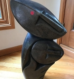 304. Zachariah Njobo. Shona Sculpture, Close to You | $430.50