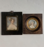 304. Two Miniature Portraits of Women |  $108