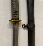 310. Japanese Samurai Sword with Signed Blade |  $570