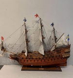 313. Large Galleon Ship Model on Stand |  $87.50