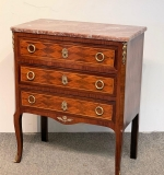 316. French Marble Top Commode |  $312.50