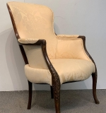 318. Antique Carved Mahogany Spoon-back Chair |  $281.25
