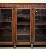 320. R.J. Horner-style Carved Mahogany Bookcase |  $562.50
