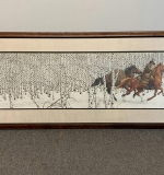 335A. Bev Doolittle. Signed Lithograph, Sacred Ground |  $180