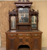 360. Victorian Carved Walnut Sideboard |  $360