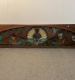 375. Large Stained Glass Transom Window |  $2,750