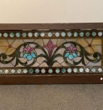 376. Framed Stained Glass Window Panel |  $531.25