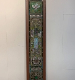 378. Framed Stained Glass Window Panel |  $3,840