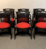 392. 6 Frank Lloyd Wright for Cassina Taliesin Chairs |  $2,280