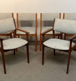 400. Assembled Set of Six Danish Modern Dining Chairs |  $210